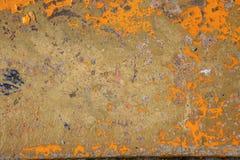 abstrakt målad texturyellow för bakgrund grunge Royaltyfria Foton
