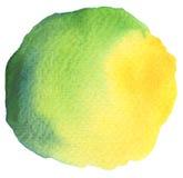 abstrakt målad vattenfärg för bakgrund hand Royaltyfri Bild