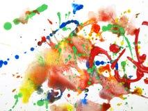 abstrakt målarfärg Arkivfoto