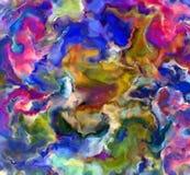 abstrakt målarfärg Arkivbilder