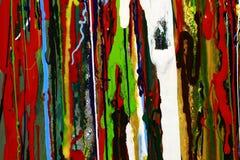Abstrakt målarfärg färgar bakgrund Royaltyfri Foto