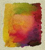 abstrakt målarfärg texturerad vattenfärg Royaltyfria Foton