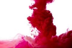 abstrakt målarfärgfärgstänk Arkivbilder