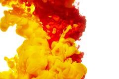 abstrakt målarfärgfärgstänk arkivbild