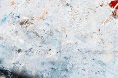 Abstrakt målarfärgtextur på kanfas för design Royaltyfria Foton