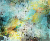 abstrakt målarfärgtexturer royaltyfri illustrationer