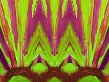 abstrakt målat färgrikt Arkivbilder