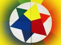 abstrakt målat färgrikt Royaltyfria Foton