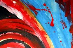 abstrakt målning stock illustrationer