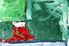 abstrakt målning royaltyfri illustrationer