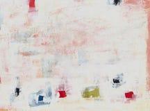 abstrakt målning Arkivfoto