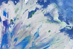 Abstrakt målningsbakgrund Arkivbilder