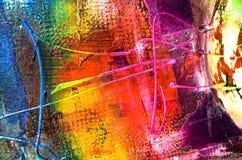 Abstrakt målningstruktur Royaltyfria Foton