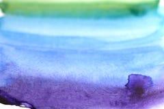 abstrakt målningsvattenfärg Fotografering för Bildbyråer