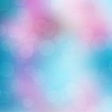 Abstrakt mångfärgad bakgrund med suddighetsbokeh Royaltyfria Foton