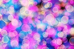 abstrakt mångfärgad bakgrundsblurbokeh Royaltyfri Foto