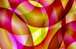 Abstrakt mångfärgad skuggad krabb bakgrund, tapet, illustration royaltyfri illustrationer