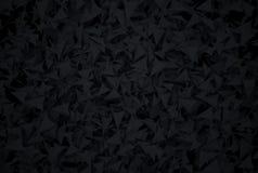 Abstrakt mörk bakgrund med moderna stilpolygones Royaltyfria Bilder