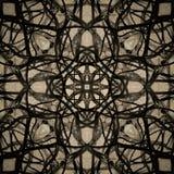Abstrakt mörk digital bakgrund - sömlös textur Royaltyfri Bild