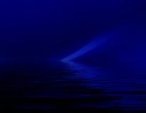 Abstrakt mörker - blå floddiagrambakgrund för design stock illustrationer