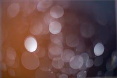 Abstrakt mörker och ljus - brun bokehbakgrund Fotografering för Bildbyråer