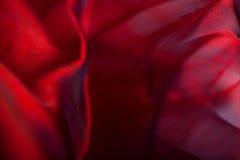 Abstrakt mörker - röd tygbakgrund Arkivfoton