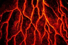 Abstrakt magmatextur Arkivfoton