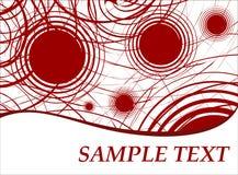 abstrakt mall 2 vektor illustrationer