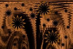 Abstrakt, malowniczy tło na temacie Afryka, Fotografia Stock