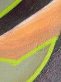 abstrakt malująca ściana Obrazy Royalty Free