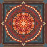 abstrakt mandala Royaltyfri Bild