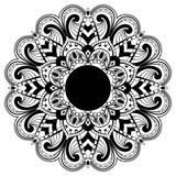 abstrakt mandala Arkivfoton