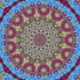 abstrakt mandala Royaltyfri Foto