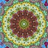 abstrakt mandala Royaltyfria Bilder