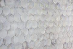 Abstrakt marmor texturerade mosaiktegelplattor Arkivbilder
