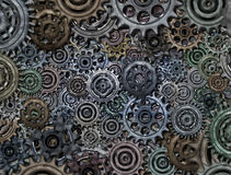 abstrakt mekanism Royaltyfria Bilder