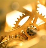 abstrakt mekanism för bakgrundsklockasammansättning Royaltyfri Fotografi