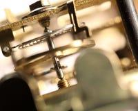 abstrakt mekanism för bakgrundsklockasammansättning Royaltyfria Bilder