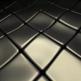 Abstrakt metallbakgrund Arkivfoton