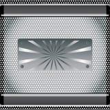Abstrakt metallbakgrund Fotografering för Bildbyråer