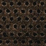 Abstrakt metallfiberyttersida Arkivfoto