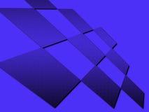 abstrakt metallfyrkanter Royaltyfri Fotografi