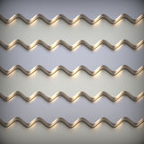 Abstrakt metallisk bakgrund 3d. Royaltyfri Fotografi