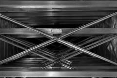 Abstrakt metallkors Royaltyfria Bilder