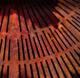 Abstrakt metallrosttextur Arkivbild
