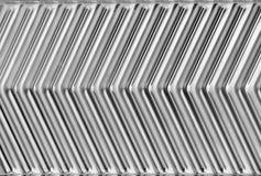 abstrakt metallwaves Arkivfoto