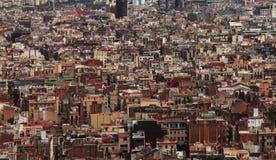 abstrakt metropolis Royaltyfria Bilder