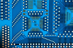 abstrakt microcircuit Fotografering för Bildbyråer