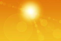 abstrakt migocze słońce Zdjęcie Royalty Free