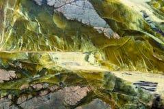 Abstrakt mineralisk textur Fotografering för Bildbyråer